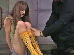 Nice Teen Is Tied Up And Punished By One Perverted Guy